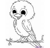 Baby Birds Coloring For Kids Printable To Download This