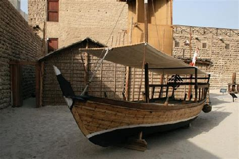 old boat uae dubai old fishing boat on the grounds of the museum