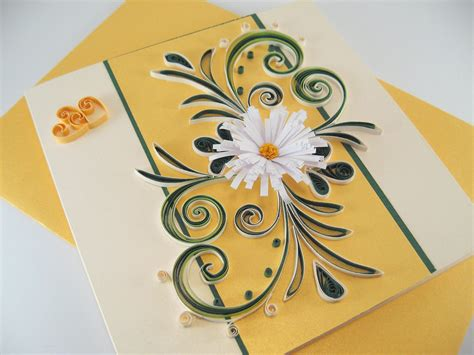 how to make a great card quilling card paper handmade greeting card