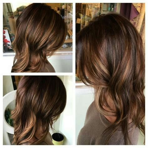 medium brown hair with high and low lights trend best 25 lowlights for brown hair ideas on pinterest low