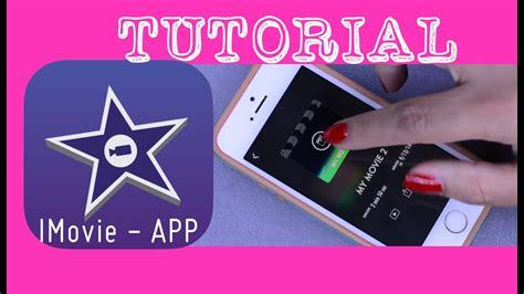 imovie app tutorial como editar    aplicativo
