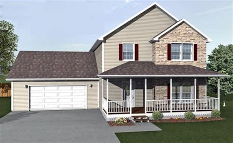 taunton by all american homes two story floorplan