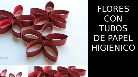 imagenes de flores con tubos de papel bao reciclaje de papel flores con tubos de papel higienico