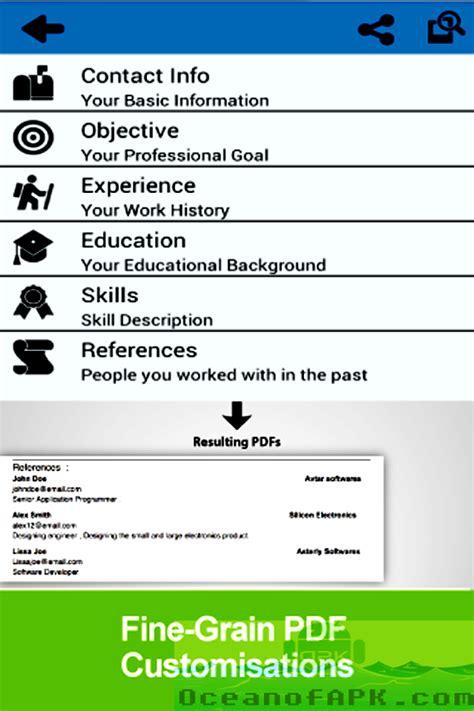 resume builder pro resume builder pro apk free