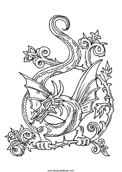m hard dragon drawings coloring pages