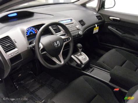 black interior 2011 honda civic lx s sedan photo 38308943