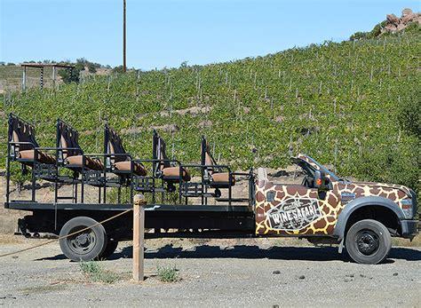 malibu wine hopping onboard a malibu wine safari travelage west