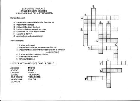 Grille Mots Croises by Comment Faire Des Mots Crois 233 S