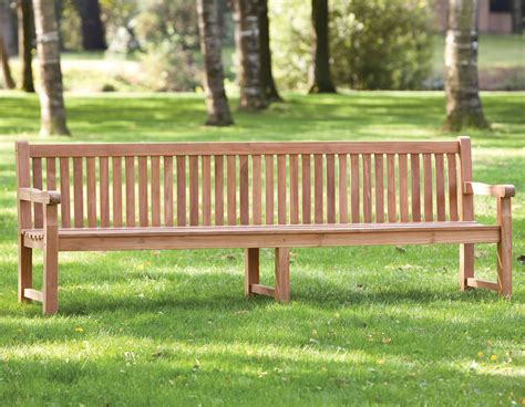 heavy duty outdoor benches heavy duty garden park teak bench 210cm