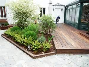 nivrem amenagement terrasse bois jardin diverses