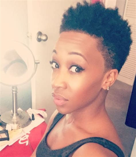 low afro fade for women afro twist out tapered cut low cut big chop natural