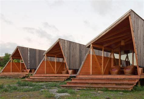 eco cabin modern morerava eco cabins sit lightly on easter island