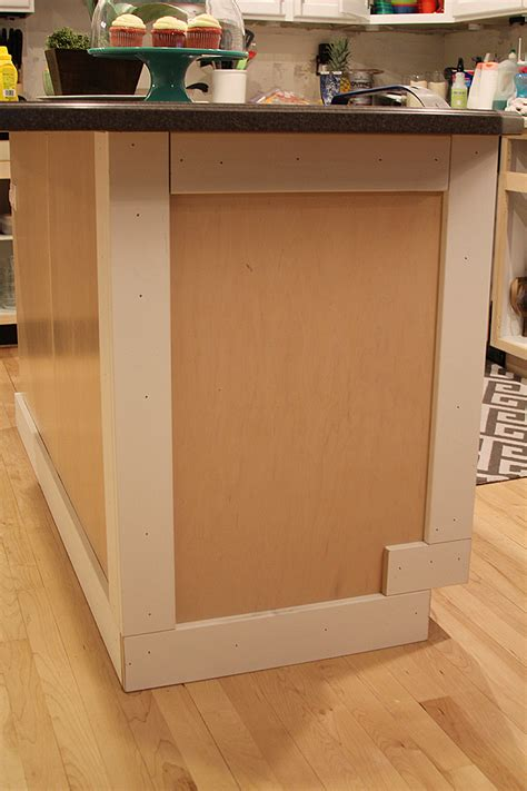 how to add a kitchen island how to add moulding to a kitchen island withheart