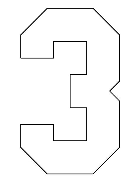 pattern of numbers finder number 3 pattern use the printable outline for crafts