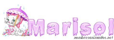 imagenes animadas nombre marisol gifs animados del nombre marisol firmas animadas