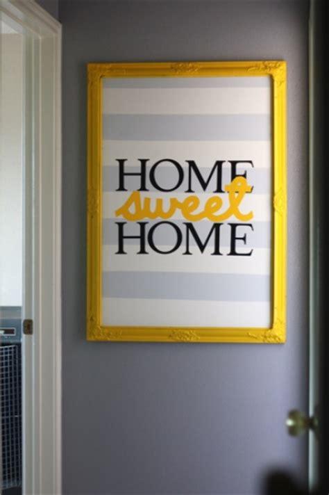 home sweet home wall decor striped home sweet home wall art