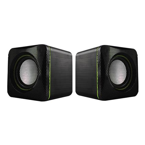 Alcatroz Speaker X Audio u cube usb powered 2 0 speakers