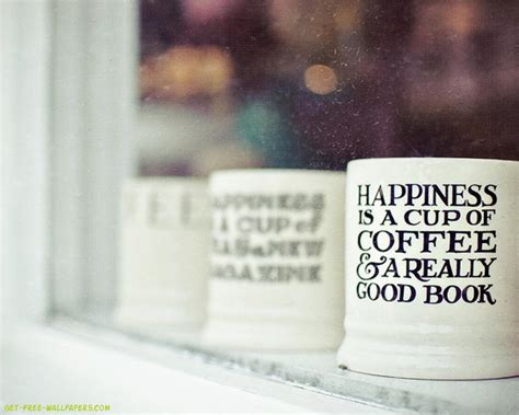 Happiness Is A Cup Of Coffee Hiasan Dinding Dapur Poster Dekorasi happiness is a cup of coffee wallpaper