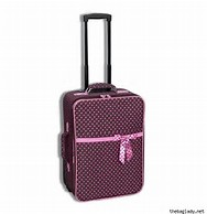 Image result for rockland luggage f106 large dots 4 piece luggage set