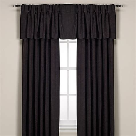 black pinch pleat curtains buy union square pinch pleat 84 inch window curtain panel