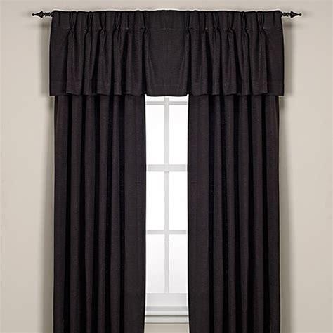 Black Pinch Pleat Curtains Buy Union Square Pinch Pleat 84 Inch Window Curtain Panel In Black From Bed Bath Beyond
