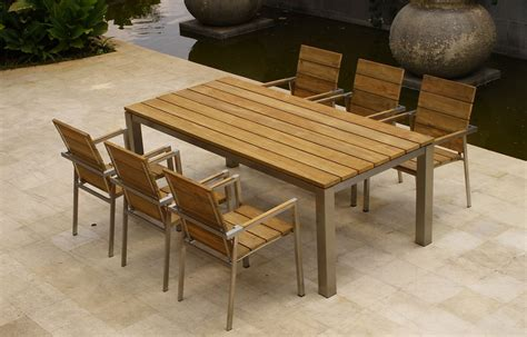 Wood For Outdoor Furniture by Wooden Outdoor Furniture Maintenance In Modish Epic Wooden
