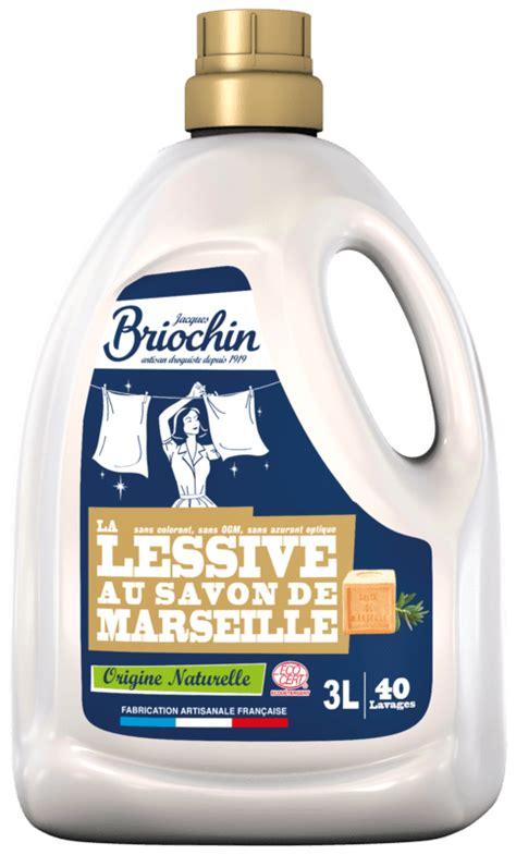 lessive au savon de marseille les soins jacques briochin