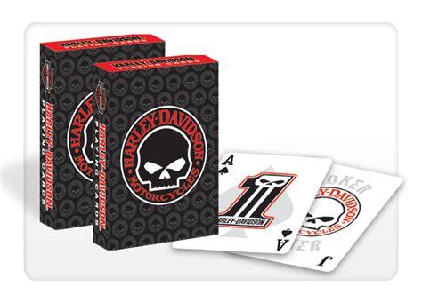 Harley Davidson E Gift Card - harley davidson skull playing cards set birthday gift ebay