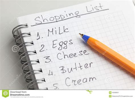 shopping lists out for high tech shopping lists that are getting