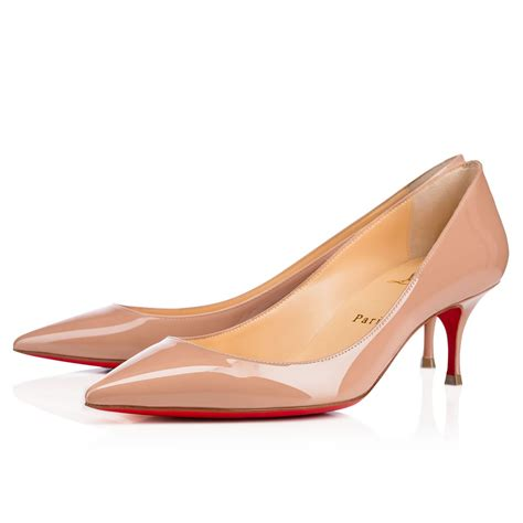 Pumps Shoes by Christian Louboutin Wavy Peep Toe Slingback