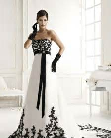 black and white wedding dresses styles of wedding dresses