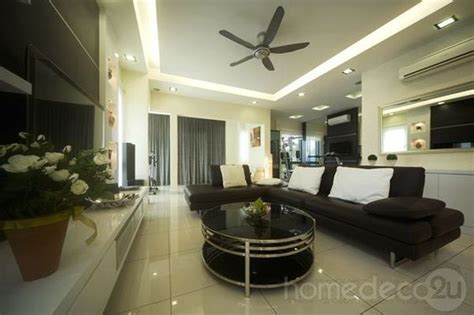 Modern Living Room Design Malaysia Modern Contemporary Interior Design On 2 1 2 Storey House