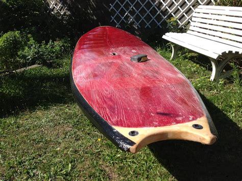 Lackieren Kanten Abkleben by Sup Reparatur Und Zweite Testfahrt Wooden Surfboards