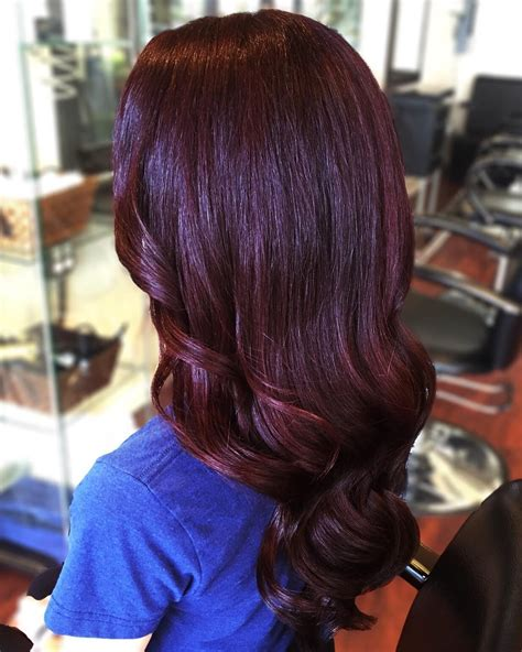how will black cherry hair dye come out witj red hair 50 stunning dark red hair color ideas bright yet elegant