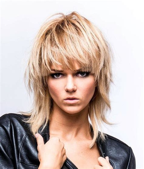mullet hairstyles on pinterest further long mullet hairstyles women moreover rocker
