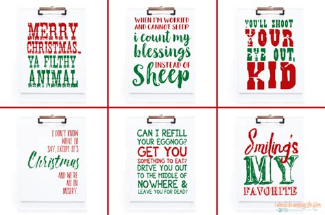 printable christmas vacation quotes i should be mopping the floor printable christmas movie