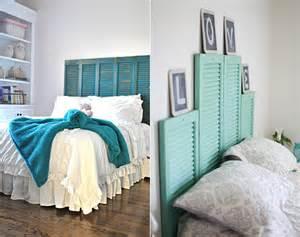 Shabby Chic Interiors 50 Schlafzimmer Ideen F 252 R Bett Kopfteil Selber Machen
