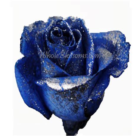 wholesale blue roses  glitter  sale