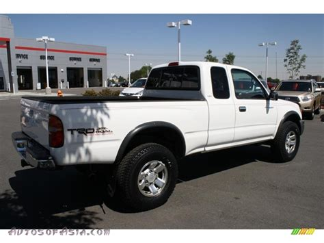 1999 Toyota Tacoma 4x4 1999 Toyota Tacoma Trd Extended Cab 4x4 In White