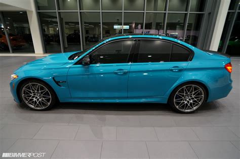 miami blue porsche bmw m3 finished in miami blue porsche looks delicious