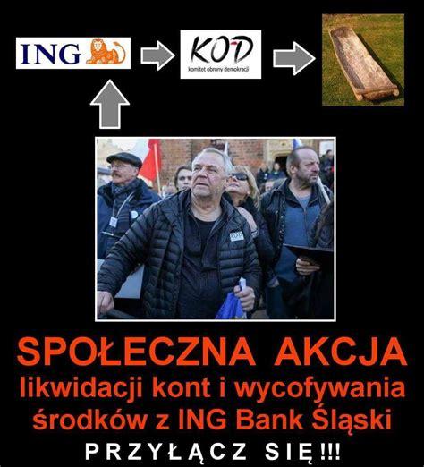 ing bank polska ruszyła społeczna akcja likwidacji kont i wycofywania