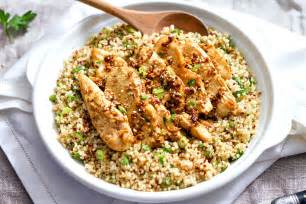 Easter Gift Ideas Garlic Lime Chicken Tenders And Quinoa Recipe Eatwell101