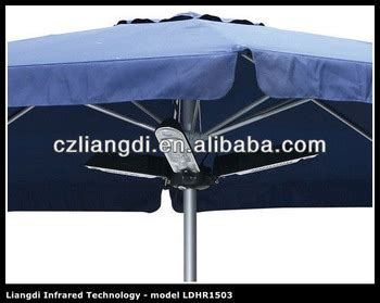 Gamis Umbrella Mayla By Irda 24 leisure electric outdoor infrared bbq umbrella heaters buy bbq umbrella heater electric patio