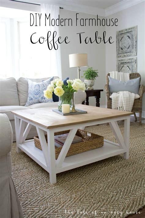 modern farmhouse coffee table how to build a diy modern farmhouse coffee table