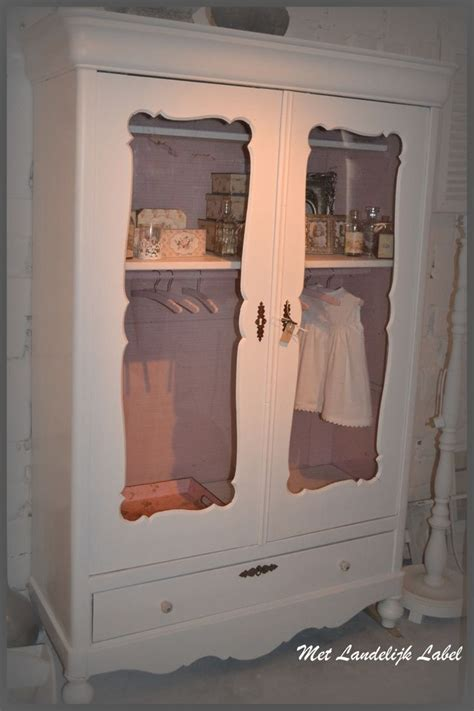 simply shabby chic armoire brocante shabby chic and shabby chic wardrobe on pinterest
