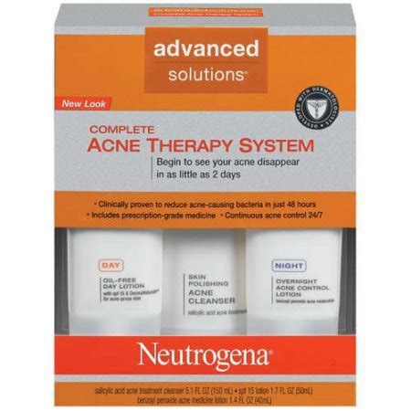 neutrogena complete acne therapy system coupon