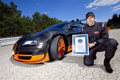 Bugatti Introduces Veyron 16 4 Super Sport World Record
