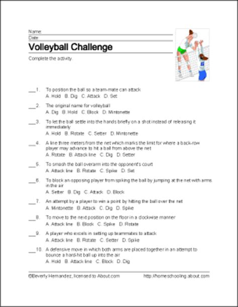 free printable volleyball word search volleyball word search vocabulary crossword and more