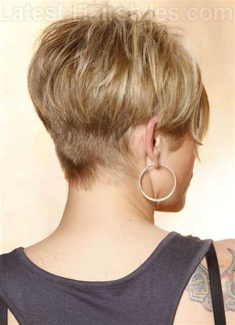 short hair at back longer on top cute short pixie haircuts hairstyles haircuts 2016 2017