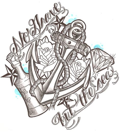 tattoo design paper no grave but the sea by likeohlikeh on deviantart